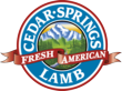 Cedar Springs Lamb Logo